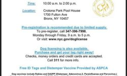 Free Vaccines for Dogs and Cats – May 6
