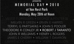 Memorial Day at Van Nest Park – May 28