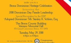 Bronx Annual Dominican Heritage Celebration 2018