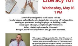 FREE Financial Literacy 101 program at Pelham Bay Library Wed 5/16 at 1 PM