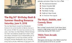 "Pelham Parkway-Van Nest Library ""The Big 50th Birthday Bash & Summer Reading Bonanza"""