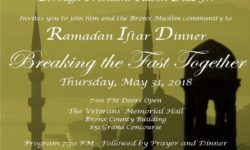Breaking the Fast Together – Ramadan Iftar Dinner