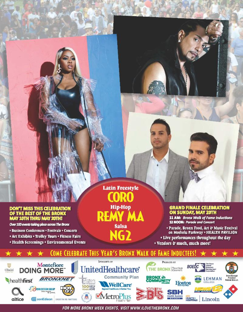 Bronx Week Concert 2018, May 20