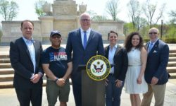 Chairman Crowley, Local Officials Announce Legislation to Protect Student Veterans