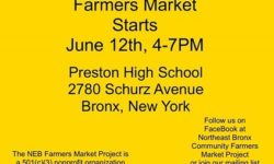 Farmer's Market at Preston High School Now Open!