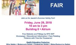 Jacobi Hospital Summer Safety Event