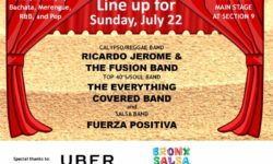 Orchard Beach Concert Series Lineup, July 22