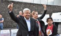 Mexico's President-elect  Andrés Manuel López Obrador casts his vote in the July 1, 2018 election. (Credit: lopezobrador.org.mx/)