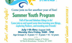 Yonkers PAL Summer Youth Program