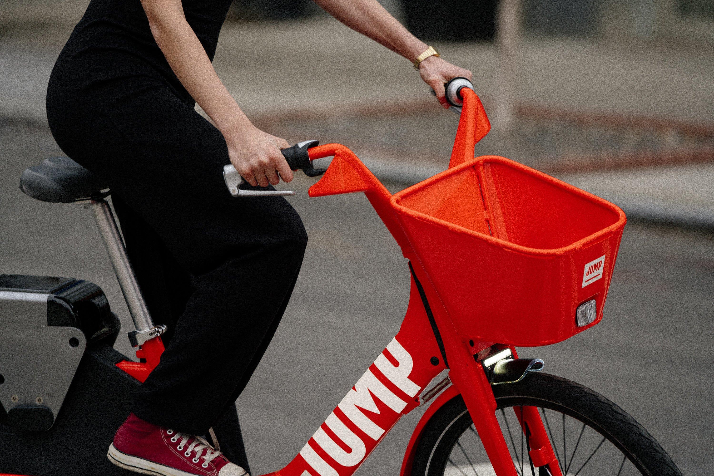 JUMP pedal-assist dockless bikes (Credit: JUMP)