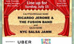 Bronx Summer Concert Series 2018