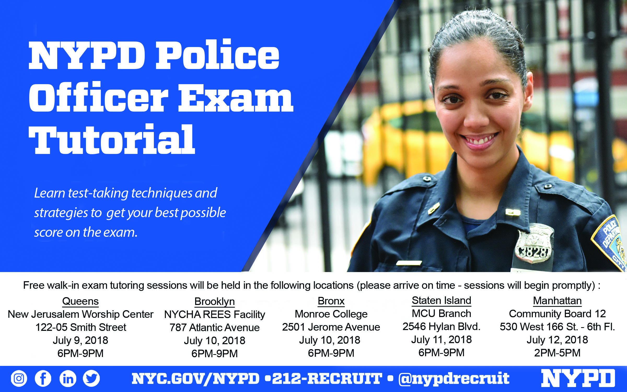 NYPD Police Officer Exam Tutorial