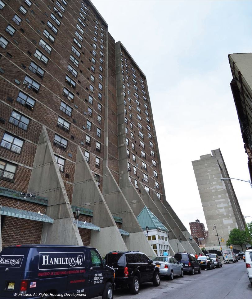 Sepulveda, Blake and Gibson Tour Water-damaged NYCHA Building