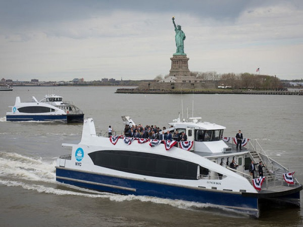First Ferry to the Bronx Opened this Month