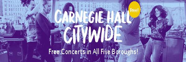 Carnegie Hall Citywide September–November 2018 Calendar