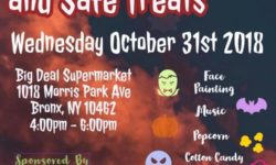 Safe Streets and Safe Treats – Oct 31