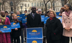 Public Advocate Candidate Michael Blake Announces First Set of Endorsements in Campaign for Public Advocate. Photo credit: Michael Blake for NYC