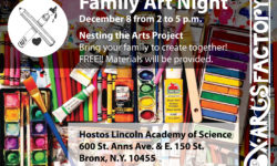 BxArts Factory Family Art Night – December 8