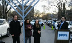 Bronx House  and Pelham Parkway Menorah Lightings