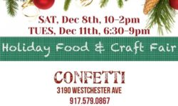 Holiday Food and Craft Fair – December 11