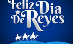 49832270 - feliz dia de los reyes - happy day of the three kings  - is a latin tradition for having the children receive presents by the three wise men on the night of january 5.