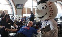 Mets Host Annual Blood Drive