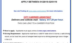 USPS is Hiring