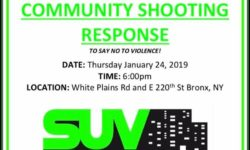 """Shooting Response Rally"" –  Please Join Us – THIS  THURSDAY, 01/24/19 6PM"
