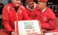 Happy 40th Anniversary to the Guardian Angels. Photo credit: Robert Press
