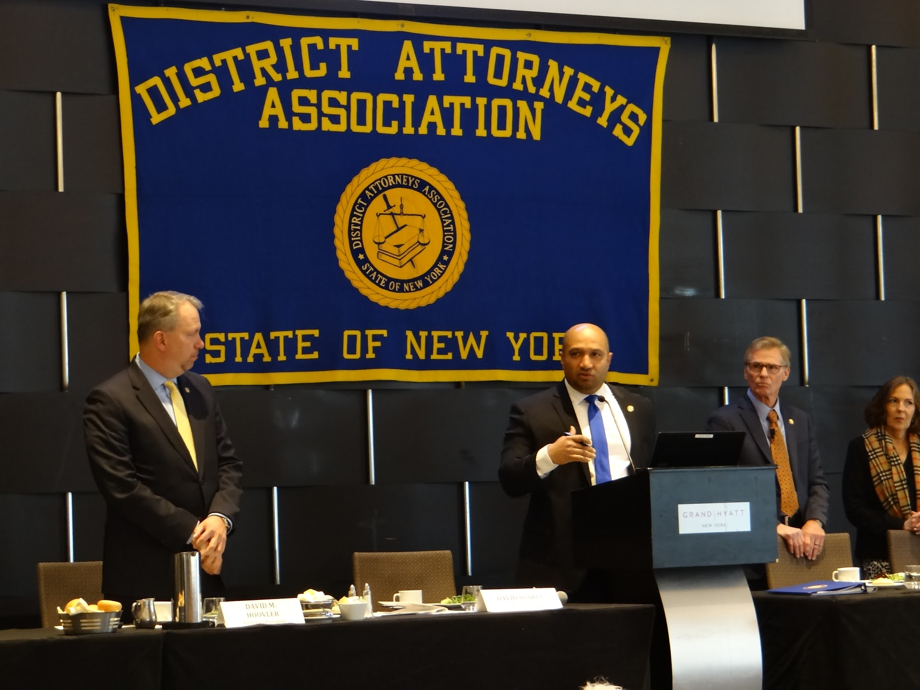 The state district attorneys association held its annual winter luncheon where five prosecutors were honored with the prestigious Hogan and Morgenthau Awards.