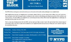 NYPD BTB 49 PRECINCT SECTOR A meeting
