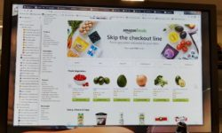 'Amazon Fresh' online groceries services. (Photo credit: Bronx Chronicle)