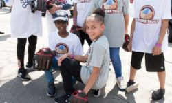 Over 100 NYCHA Youth Participate in Baseball Clinics with MLB Pros