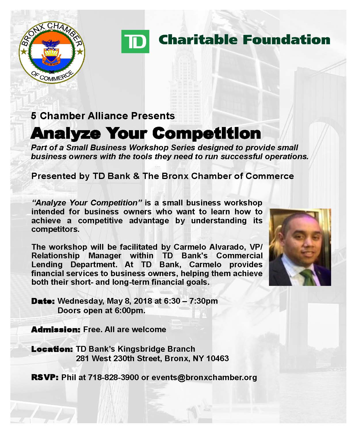 TD Bank Anayzing Competition - The Bronx Chronicle