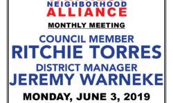 VAN NEST NEIGHBORHOOD ALLIANCE–MONTHLY MEETING–MONDAY JUNE 3, 2019–7:00PM