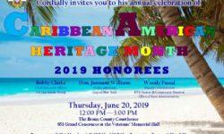 FW: Bronx Borough President's Caribbean Heritage Month Celebration 2019