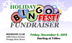 Reminder: Enjoy Bingo and win Raffles This Friday in support of Bronx Crime Victims
