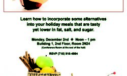 Health and Delicious Holiday Celebration