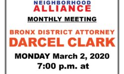 VNNA MONTHLY MEETING–MONDAY MARCH 2, 2020 AT 7:00PM