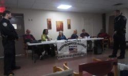 Van Nest Neighborhood Alliance Meeting Monday March 2, 2020