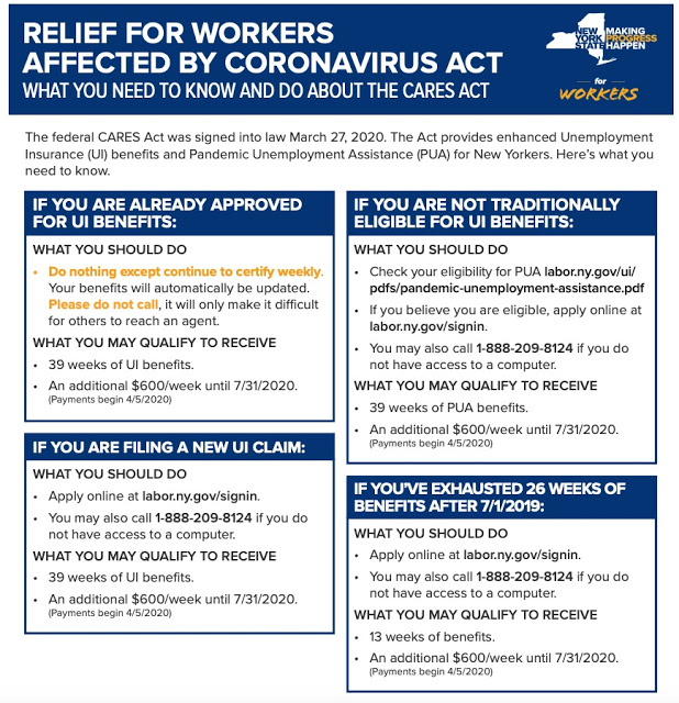 COVID-19 AID: Filing For Pandemic Unemployment Assistance