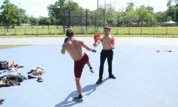 Martial Arts Instructor Serving Purpose At Pelham Bay Park