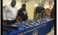 Bronx DA: Bronx District Attorney's Office & NYPD Gun Buyback Yields 136 Firearms, Mostly Handguns