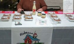 Rebecca Huertas of Rebecca's Sweets and Spices who is trying to get her products into more stores.