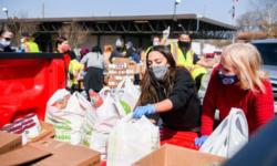 New York Congresswoman Alexandria Ocasio-Cortez Flies to Houston Texas to Help in Relief Effort