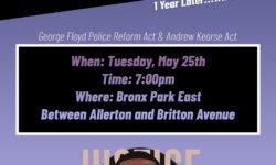 TONIGHT: Community Vigil forGeorgeFloyd: One Year Later…What's Next?