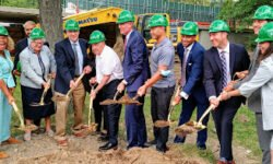 Groundbreaking for new Science lab building at Bronx Science High School