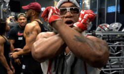 Grandmaster Melle Mel at Sessions Gym in the Bronx.