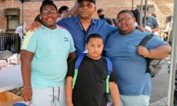 Book Bag, Face Mask, and hand Sanitizer Giveaway at the Pelham Parkway Houses