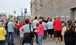 Rally Against proposed 8 story building in Throggs Neck